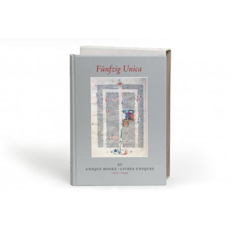 [Stock catalogues, numbered series: 40] Fünfzig Unica : 50 Unique Books : Livres uniques : 1472-1949