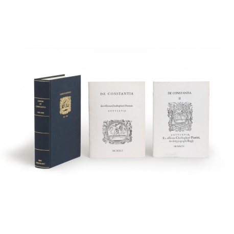 [Stock catalogues, hors série] Labore et constantia: a collection of 510 editions issued by Christopher Plantin from 1555 till 1589 § De constantia I : ex officina Christophori Plantini, Antverpiae § De constantia II : ex officina Christophori Plantini, Antverpiae