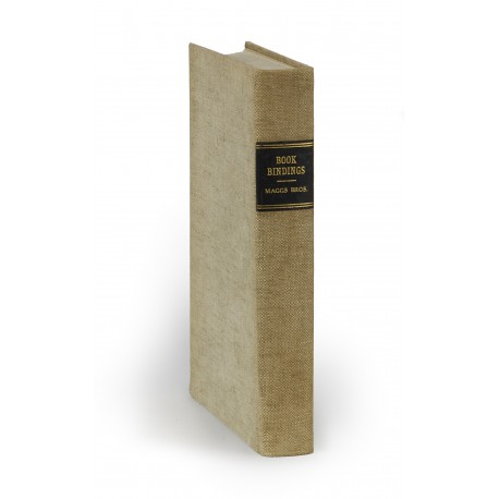[Stock catalogues, numbered series: 489] Bookbindings, historical & decorative