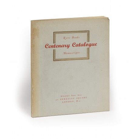 [Stock catalogues, numbered series: 812] Centenary catalogue : Rare books : Manuscripts [other title:] 1853-1953 : A selection of books, manuscripts and autograph letters of special interest and rarity