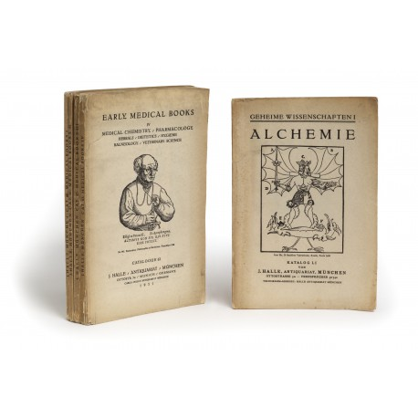 [Stock catalogues, numbered series: 60-63] Early medical books (parts I-IV)