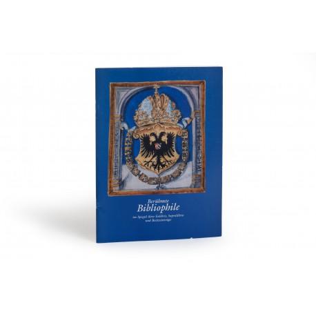 Berühmte Bibliophile im Spiegel ihrer Exlibris, Supralibros und Besitzeinträge (catalogue of an exhibition held in the Bibliothek Otto Schäfer, Schweinfurt, 14 October 2001-6 January 2002; Ausstellungskatalog 17)