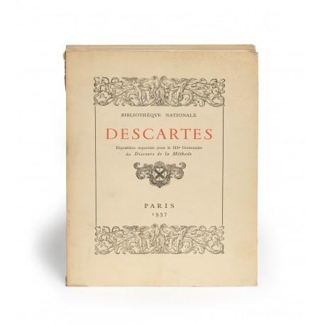 Descartes : Exposition organisée pour le IIIe Centenaire du Discours de la méthode