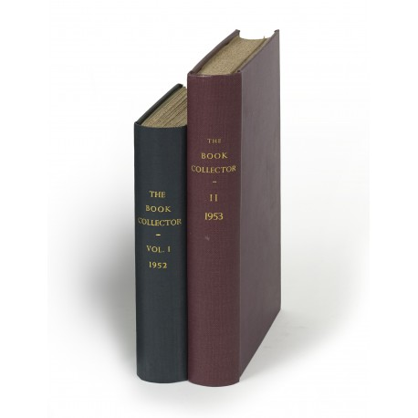 The Book Collector (volumes 1-65, 1952-2016; Index 1952-1961)