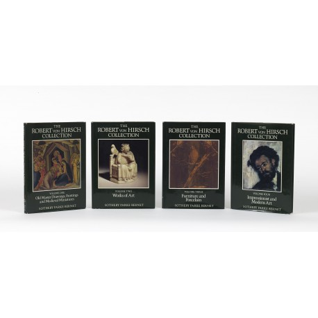 The Robert von Hirsch collection, volume one: Old Master drawings, paintings and medieval miniatures § Volume two: Works of art § Volume three: Furniture and porcelain § Volume four: Impressionist and modern art (catalogues for auctions conducted by Sotheby, Parke Bernet & Co., London, 22-26 June 1978)