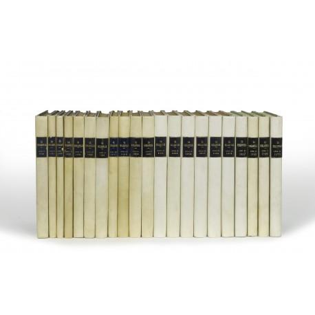 La Bibliofilía : Raccolta di scritti sull'arte antica in libri, stampe, manoscritti, autografi e legature : Diretta da L.S. Olschki (volumes 52-89, 1950-1987) § Index 26-50 (1924-1948) § Index 51-80 (1949-1978)