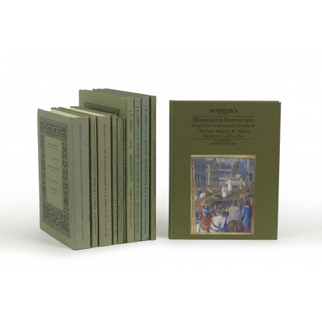 Catalogue of valuable printed books and fine bindings from the celebrated collection : the property of Major J.R. Abbey. Parts I-XI (catalogues for auctions conducted by Sotheby & Co., London, 21 June 1965-19 June 1989)