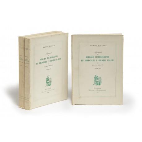 Aggiunte al Dizionario bio-bibliografico dei bibliotecari e bibliofili italiani di Carlo Frati
