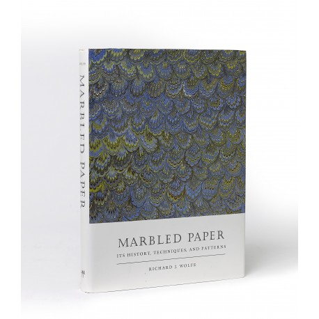 Marbled paper : its history, techniques, and patterns : with special reference to the relationship of marbling to bookbinding in Europe and the Western World (Publication of the A.S.W. Rosenbach Fellowship in Bibliography)