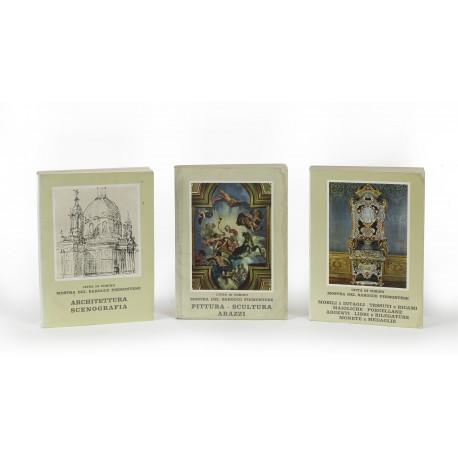 Mostra del Barocco Piemontese (catalogue of exhibitions held in Palazzo Madama, Palazzo Reale, and Reale Palazzina di Caccia di Stupinigi, Turin, 22 June-10 November 1963)