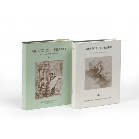 Dibujos italianos del siglo XVII (Catálogo de dibujos, 6) § Dibujos italianos del siglo XVIII y del siglo XIX (Catálogo de dibujos, 7)