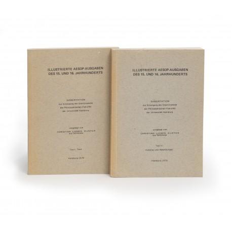 Illustrierte Aesop-Ausgaben des 15. und 16. Jahrhunderts