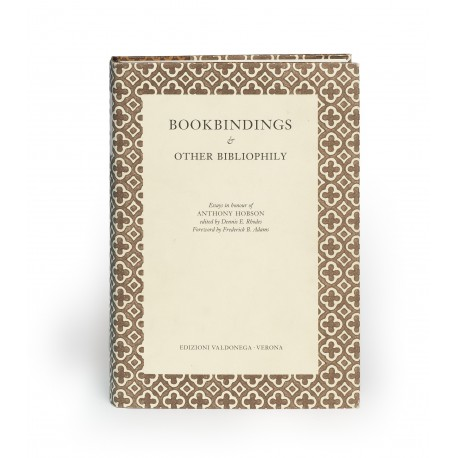 Bookbindings & other bibliophily. Essays in honour of Anthony Hobson