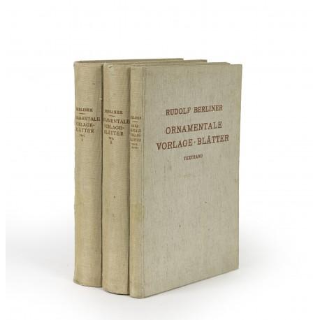 Ornamentale Vorlage-Blätter des 15. bis 18. Jahrhunderts