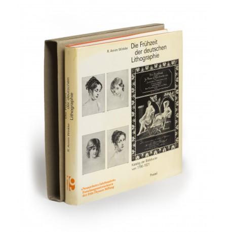 Die Frühzeit der deutschen Lithographie : Katalog der Bilddrucke von 1796-1821 (Materialien zur Kunst des 19. Jahrhunderts, 16)
