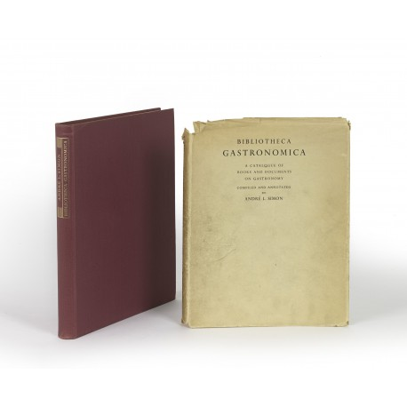 Bibliotheca gastronomica : a catalogue of books and documents on gastronomy