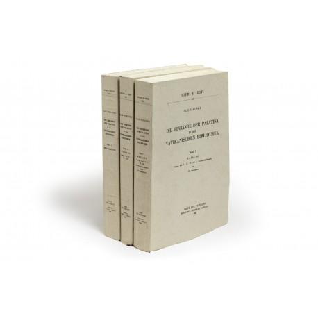 Die Einbände der Palatina in der Vatikanischen Bibliothek (Studi e Testi 216-218)