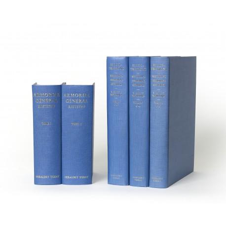 Armorial général, précédé d'un dictionnaire des termes du blason § Illustrations to the Armorial général by J.B. Rietstap