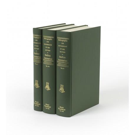 Bibliographie des impressions et des oeuvres de Josse Badius Ascensius imprimeur et humaniste 1462-1535 (Bibliography and reference series, 48)