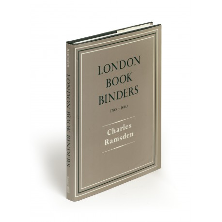London bookbinders 1780-1840