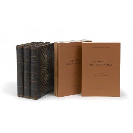 Catalogue général des incunables des bibliothèques publiques de France, 1: Abano – Biblia § 2: Biblia Pauperum – Commandements § 3: Compaignies – Gregorius Magnus