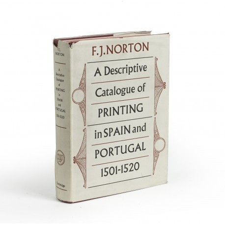 A descriptive catalogue of printing in Spain and Portugal 1501-1520