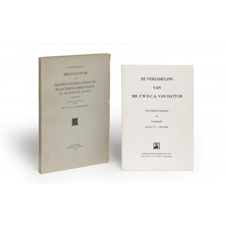 Bibliographie van Noord-Nederlandsche plaatsbeschrijvingen tot het einde der 18 de eeuw : Tweede druk