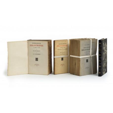 Nederlandsche Bibliografie van 1500 tot 1540. Eerste Deel § Tweede Deel § Inleiding tot een derde deel : Winst en Verlies § Eerste [-Vierde] Aanvulling