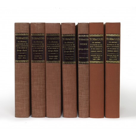 In this set, the ten Supplement fascicules (published 1958-1969) have been bound in two volumes by Bernard Middleton to match the publishers' bindings of the five-volume Catalogue (published 1937-1952)