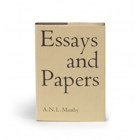 Essays and papers. Edited, with an introduction, by Nicolas Barker