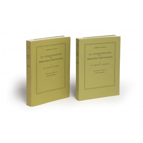 Le Cinquecentine della Biblioteca Trivulziana. 1. Le edizione milanesi § 2. Le edizioni lombarde