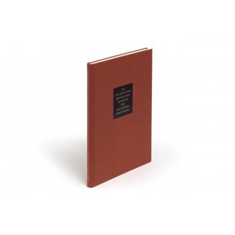 Die italienischen Renaissance-Einbände der Bibliothek Fürstenberg : Einführung von Hans Fürstenberg : Einbandbeschreibung von Tammaro de Marinis