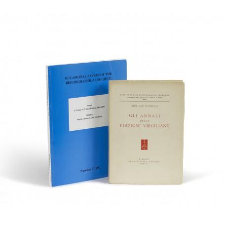 Gli annali delle edizioni virgiliane (Biblioteca di Bibliografica italiana, 27)