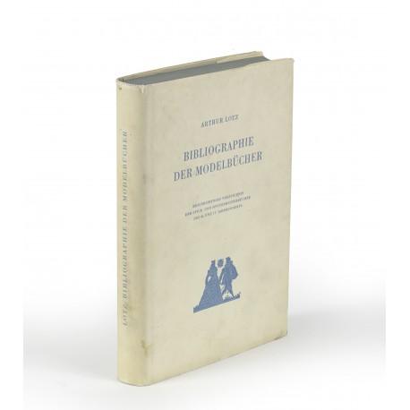 Bibliographie der Modelbücher : Beschreibendes Verzeichnis der Stick- und Spitzenmusterbücher des 16. und 17. Jahrhunderts. Mit 213 Abbildungen auf 108 Tafeln