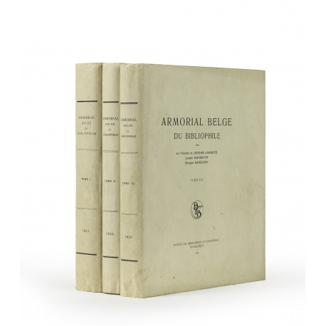 Armorial belge du bibliophile