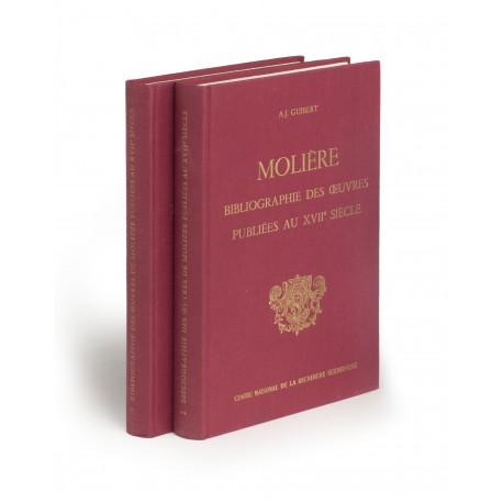 Bibliographie des œuvres de Molière publiées au XVIIe siècle