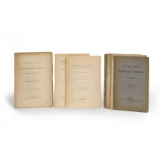 Rare offprints of John Ferguson's publications on technological chemistry