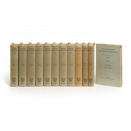 Opus epistolarum Des. Erasmi Roterodami denuo recognitum et auctum per P.S. Allen
