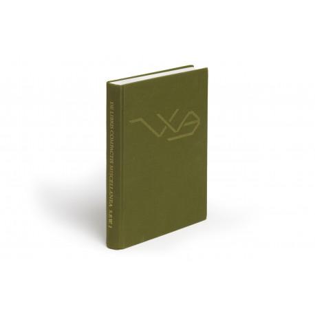 De libris compactis miscellanea (Studia Bibliothecae Wittockianae, 1)
