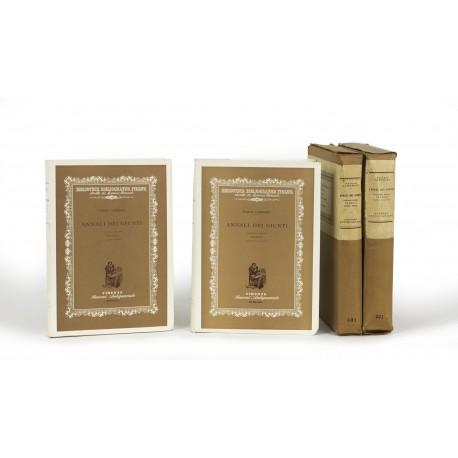 Annali dei Giunti : Volume Primo : Venezia (Biblioteca Bibliografica Italica, 27-28)
