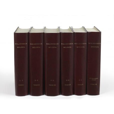 Bibliotheca Belgica : Bibliographie générale des Pays-Bas