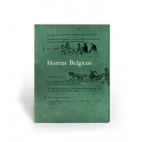 Hortus Belgicus (catalogue of an exhibition held at the Bibliothèque Royale Albert 1er, Brussels, August-September 1962)