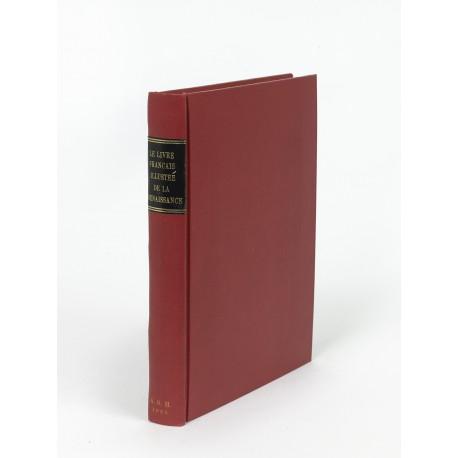 Le Livre français illustré de la Renaissance : étude suivie du catalogue des principaux livres à figures du XVIe siècle