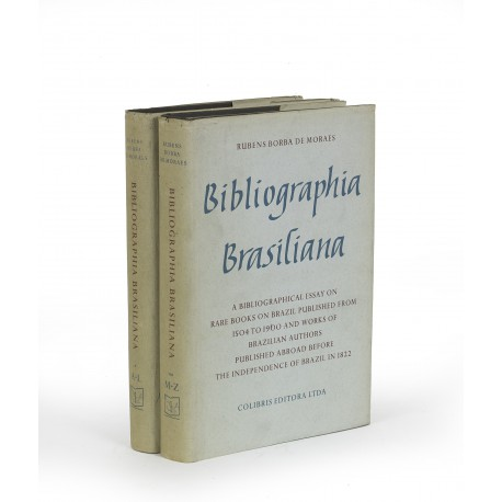 Bibliographia brasiliana : a bibliographical essay on rare books about Brazil published from 1504 to 1900 and works of Brazilian authors published abroad before the independence of Brazil in 1822