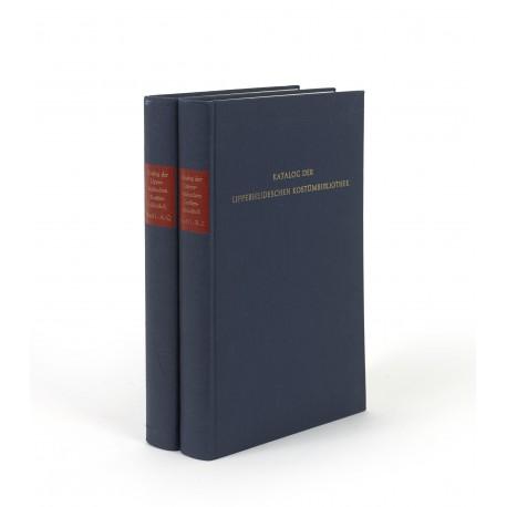 Katalog der Lipperheideschen Kostümbibliothek
