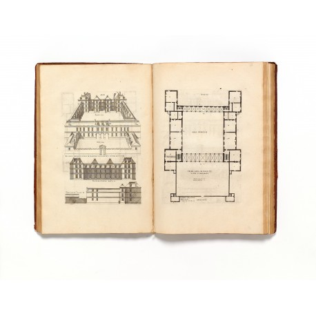 De Architectura, plates XXXIII-XXXIV. Page height 410 mm