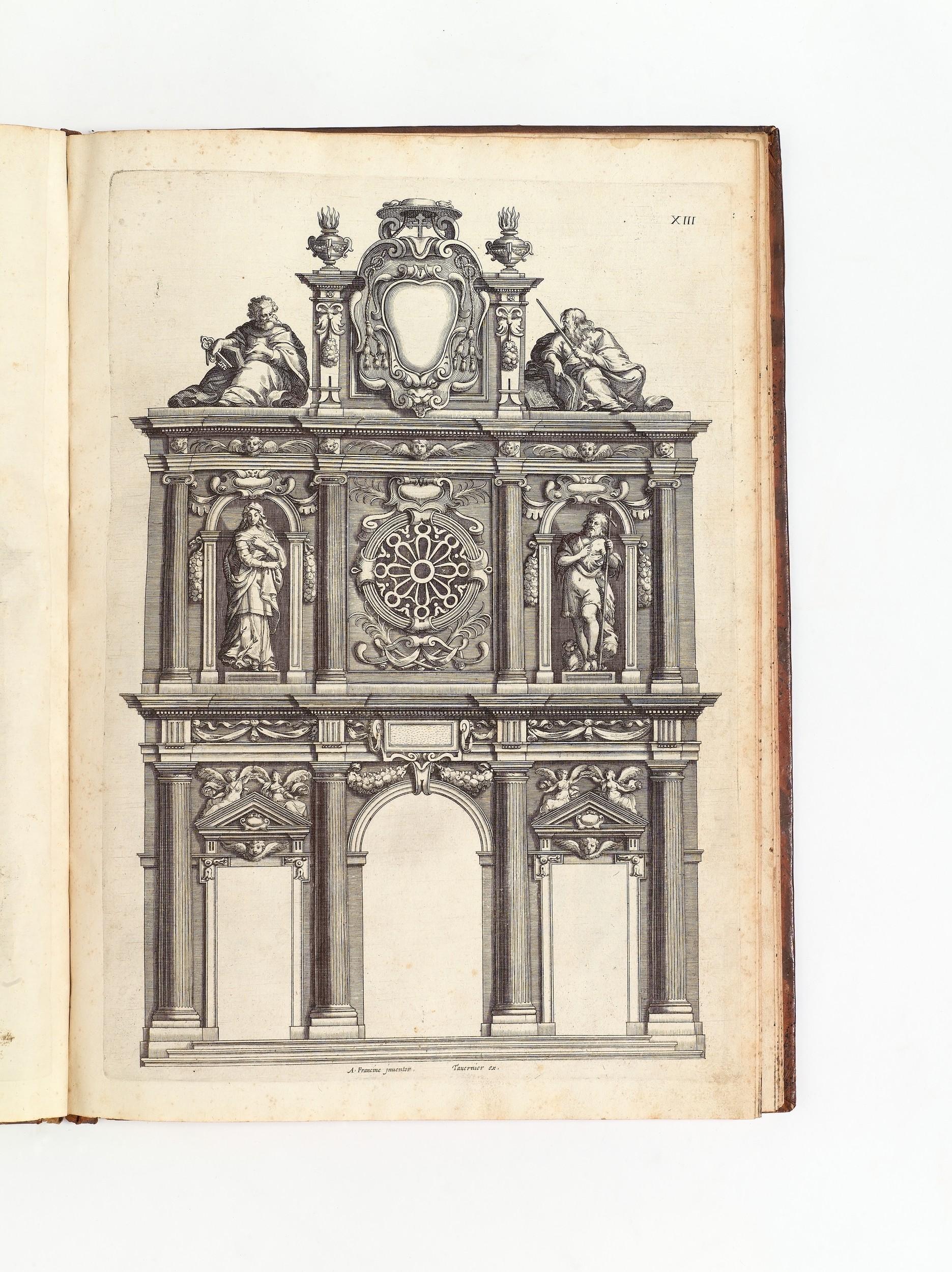 francini alessandro after 1571 1648 livre d. Black Bedroom Furniture Sets. Home Design Ideas