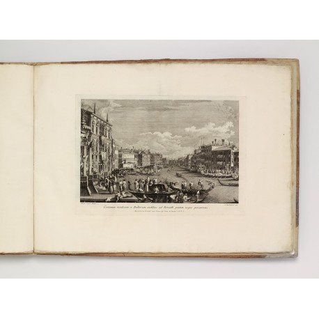 Regatta on the Grand Canal, etching and engraving by Brustolon after an etching by Visentini (325 × 465 mm, platemark)