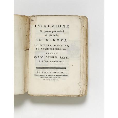 Rare first edition, from the library of Georg Karl (Ignaz Johann Nepomuk) von Fechenbach zu Laudenbach (1749-1808), Fürstbischof von Würzburg