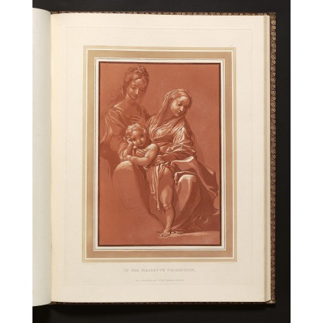 Engraving by Luigi Schiavonetti after the drawing by Annibale Carracci in the Royal Collection